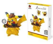2750pcs Cartoon Mini Blocks Anime Building Bricks Model Poke Charmander Blocks Blastoise Auction Figure Toy For Children Gifts