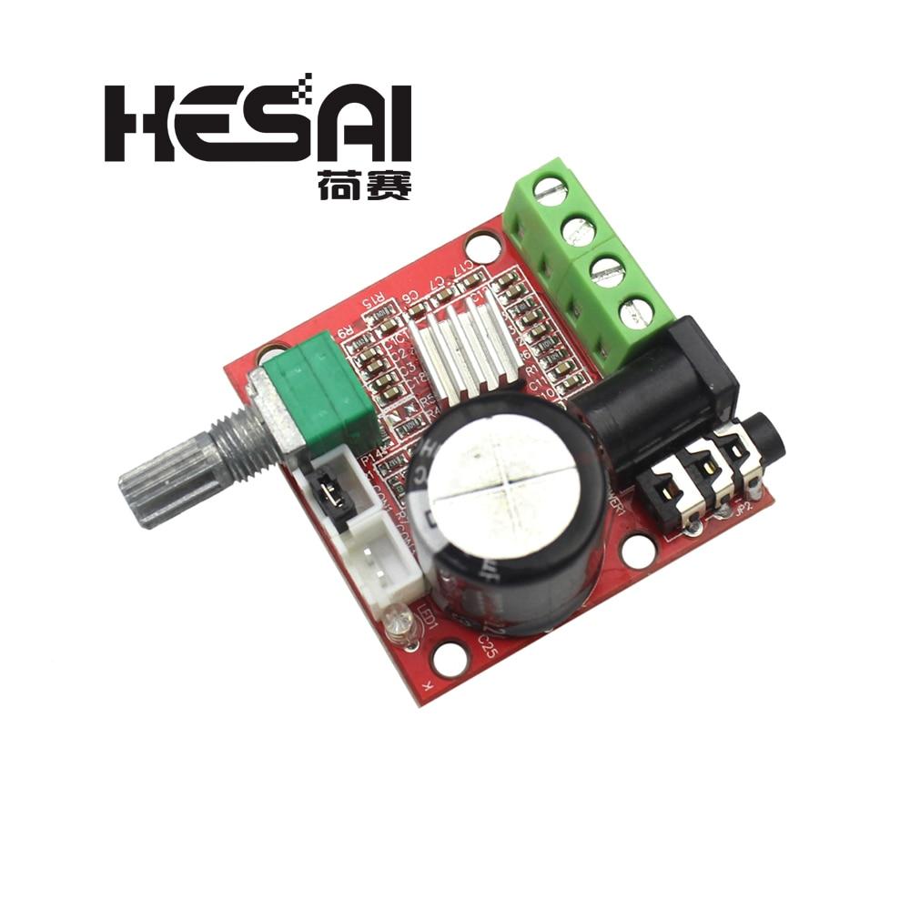 12V 2X10W Hi-Fi PAM8610 аудио стерео усилитель, модуль платы, двойной D Класс канала