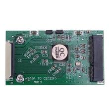 1.8 inch mSATA to CE ZIF interface transfer Converter Card Mini mSATA PCI-E SSD To 40pin ZIF Card For Mac PC Laptop