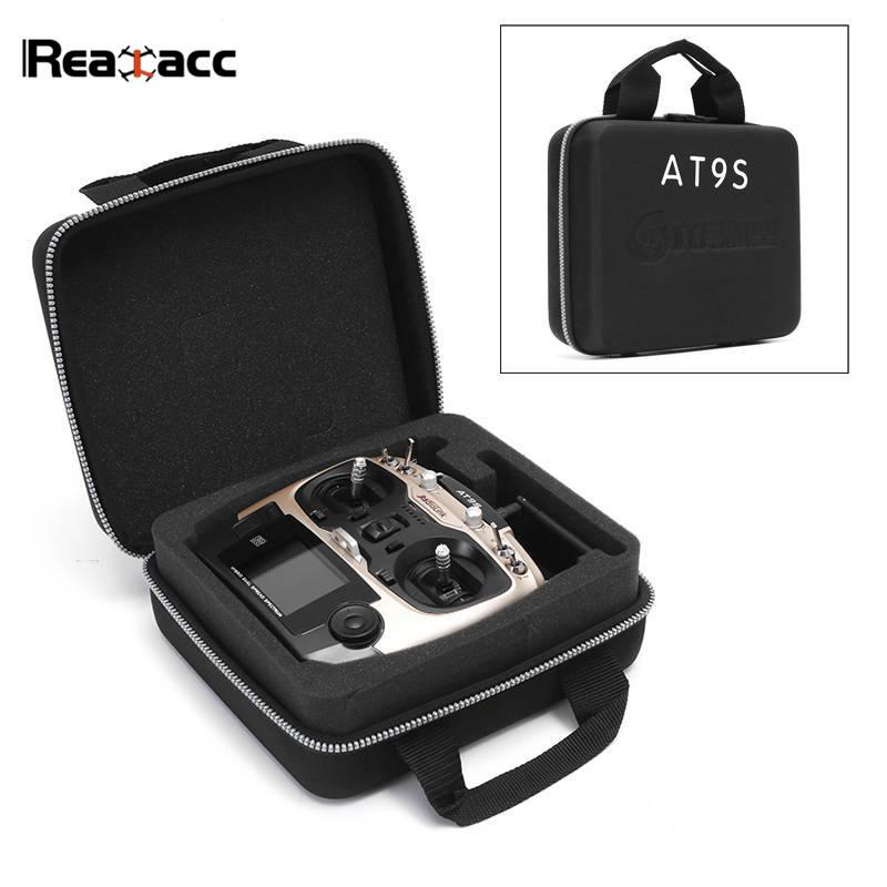 Realacc impermeable transmisor de Control remoto maleta de transporte caja de mano bolsa para Radiolink AT9S WFT07 WFT09II negro