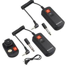 WanSen Universal SIE DC-04 4 Kanäle Wireless Radio Studio 1 sender + empfänger 2 Flash Trigger Set für Strobe