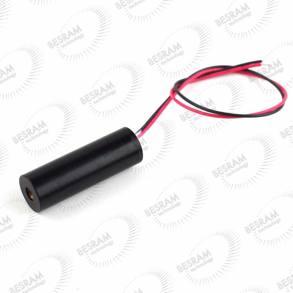 Módulo láser de punto rojo de 12*42mm 658nm 20mW 200mW DC 3V ~ 5V