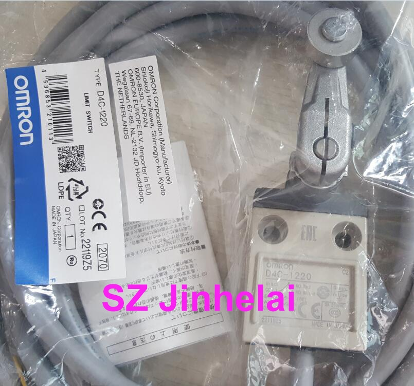 Оригинальный Концевой выключатель OMRON D4C-1220