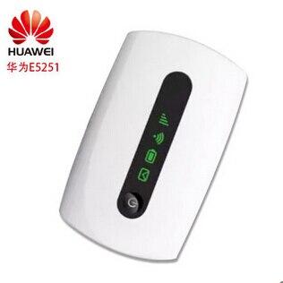 Lote de 10 Uds Huawei E5251 desbloqueado 42,2 Mbps 3G HSPA + UMTS 900/2100MHz Router inalámbrico USB bolsillo WiFi banda ancha móvil
