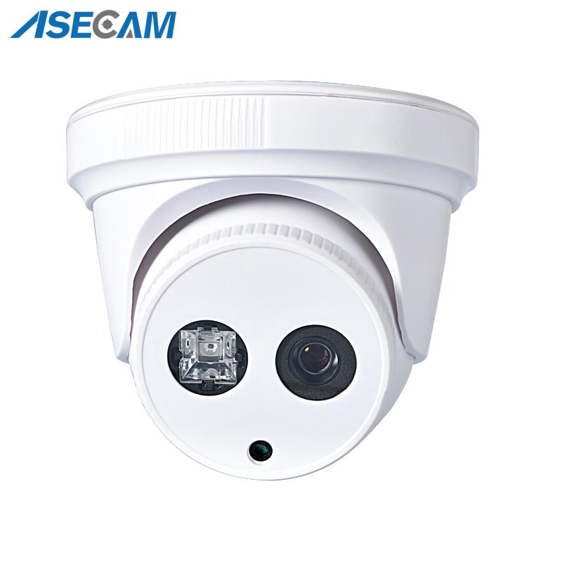 New HD H.265 IP Camera 1080P IMX323 Security Small indoor white Mini Dome Surveillance Array IR CCTV Onvif WebCam P2P Xmeye