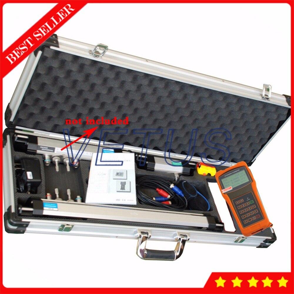 DN50-700mm Portable Ultrasonic Flow Meter with HM Bracket Transducer TUF-2000H EB-1 Extended bracket handheld digital flowmeter