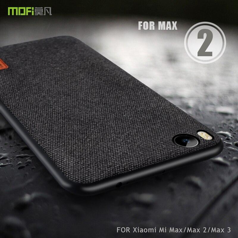 Para Xiaomi Mi Max 2 funda Xiaomi Mi Max 3 funda Xiaomi Mi Max funda MOFi tela cubierta Mi Max 1 borde de silicona funda completa
