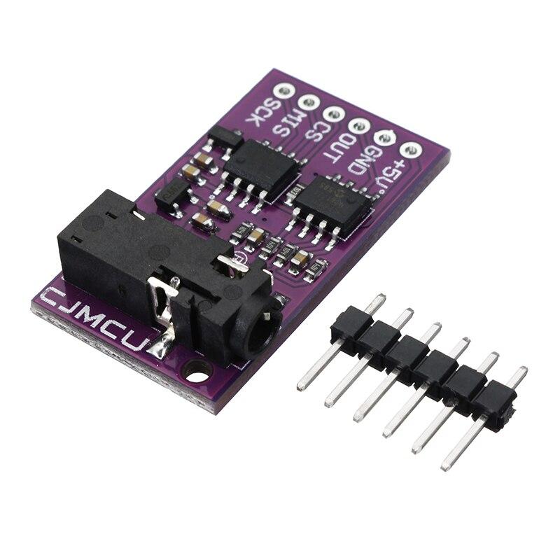 Módulo de Sensor de piel CJMCU-6701 GSR SPI analógico 3,3 V/5 V para Arduino