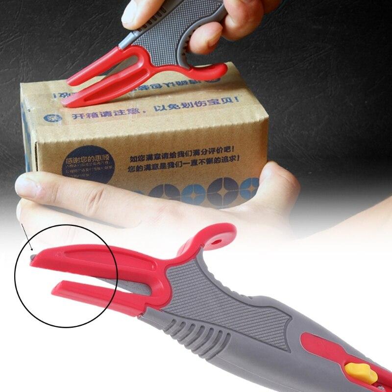 Box Paper Carton Board Cutter Utility Knife Retractable Razor Blade DIY Tool For lishao home improvement qiang