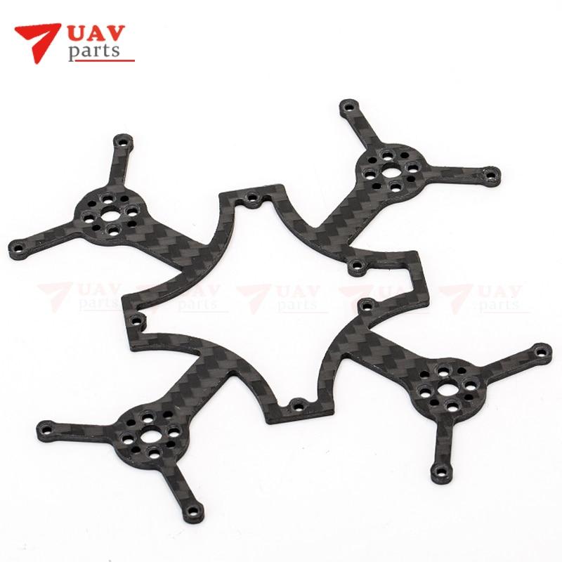 DYS ELF spare part carbon fiber plate/ frame ELF-007 for 83mm micro brushless fpv racer drone ELF free shipment