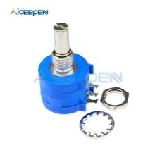 3590S-2-104L 100K Ohm Rotary Wirewound Precision Potentiometer Pot 10 Turn 3590S 2 104L