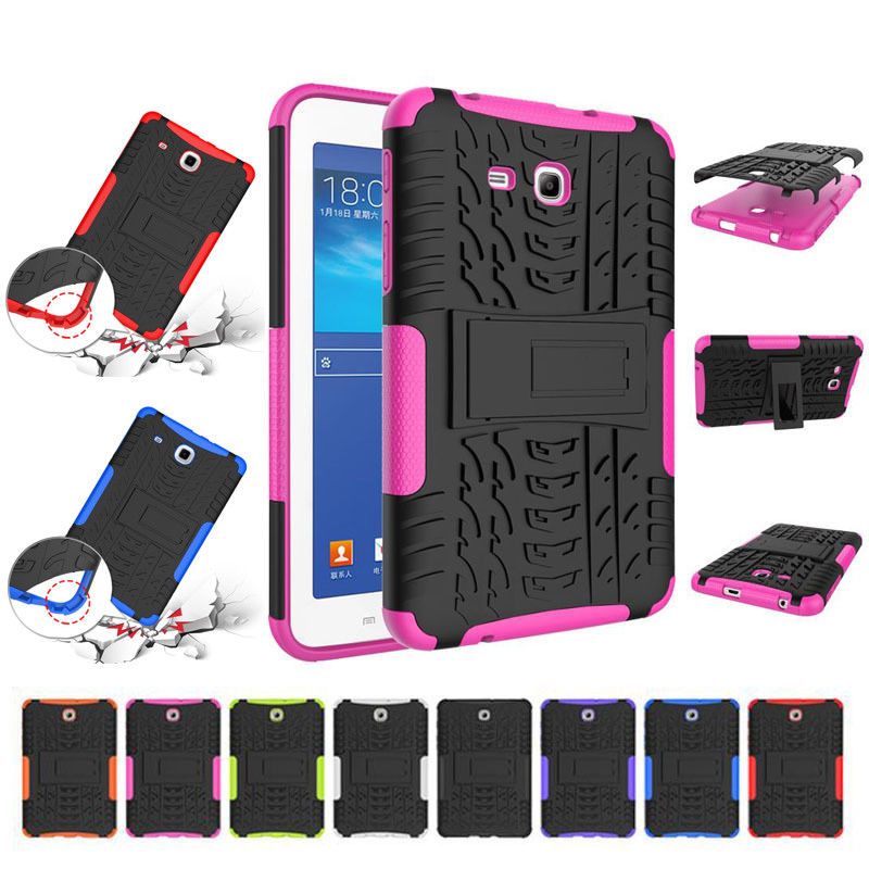 Stand Case for Samsung galaxy T350 8.0 Inch Cover Tablet Case 3 IN 1 Armor Kickstand Silicone Hybrid Rugged Heavy Duty Cover