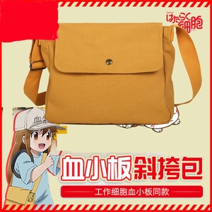 Cells at Work! Erythrocite Red cosplay Messenger Bags oxford Student Anime Schoolbags Unisex