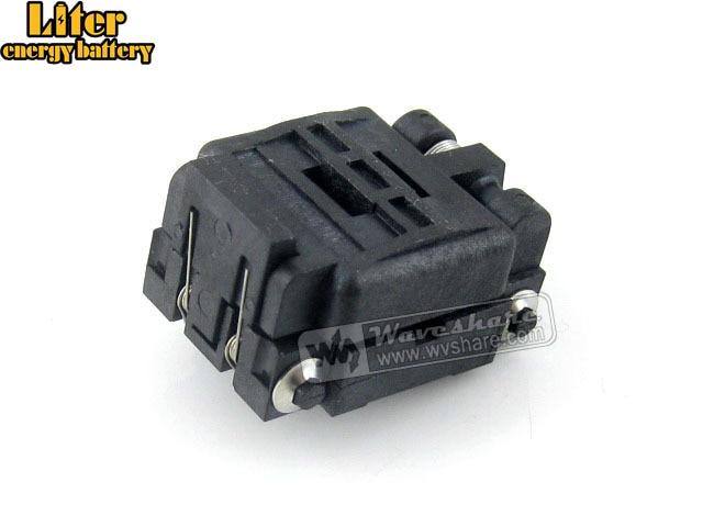 Plastronics IC Test Socket Adapter 24QN50K14040 24QN50S14040 0.5mm Pitch 24 Pins QFN24 MLP24 MLF24 Package