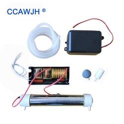 110 v/220 v tubo de sílica gerador ozônio 3.5 g/h com acessório opcional para diy desinfector ar e água + frete grátis