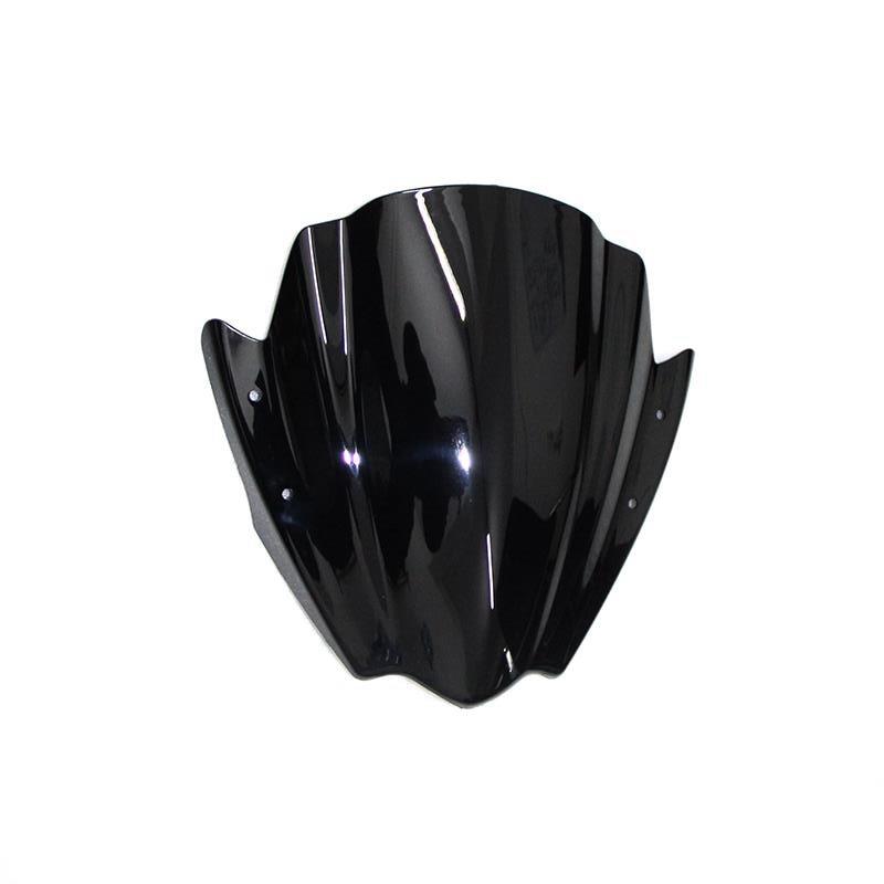"Para Yamaha FZ1 FZ1N MT-09 FZ9 MT-07 7/8 ""& 1"" montaje del manillar parabrisas de la motocicleta ABS"