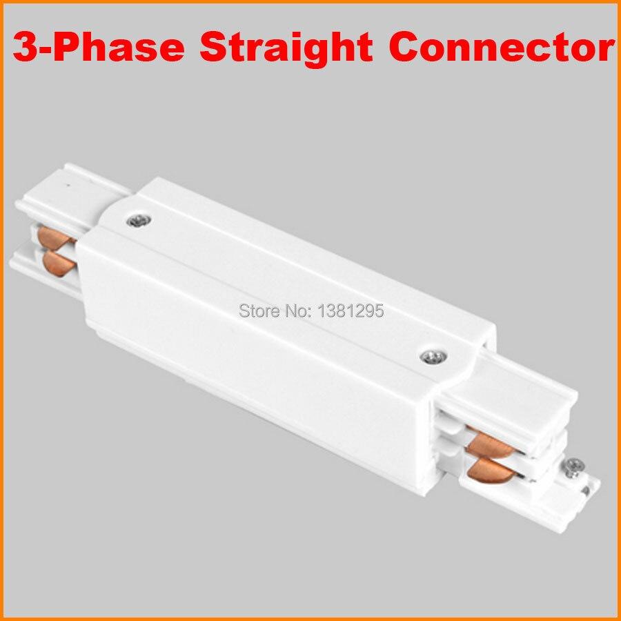 circuito de 3 fases 4 fios praca led faixa light rail feed do meio hetero joiner
