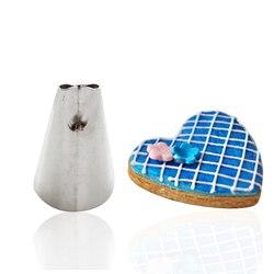 Top 1 PCS Bolo Piping Bicos Dicas Bolo Fondant Sugarcraft decoração para a Prática DIY Bakeware
