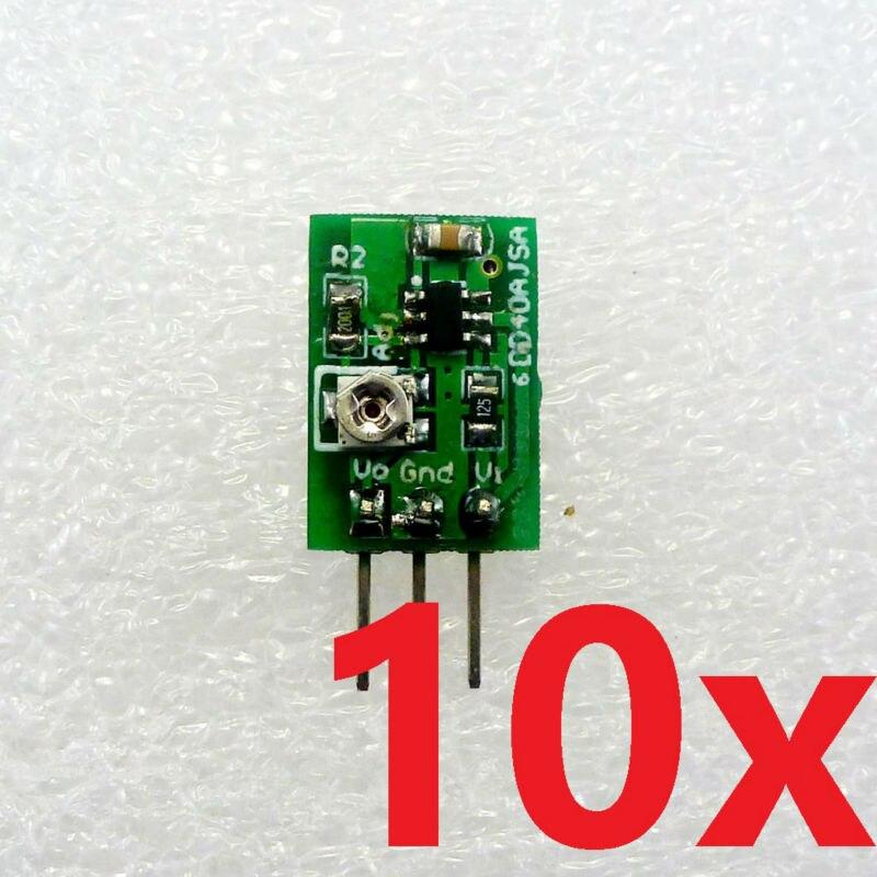 Convertidor Buck DD40AJSA * 10 10 Uds 5W DC-DC reductor 5V-36V a 5 12V reemplazo del módulo de potencia 7805 7812