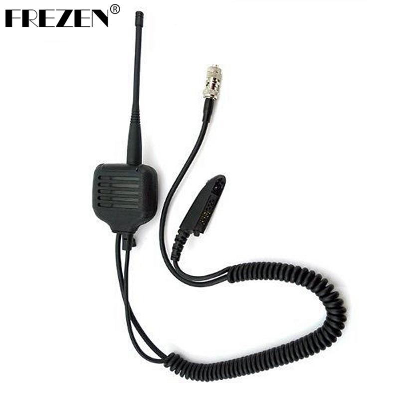 Speaker Mic Para Motorola Walkie Talkie Rádios GP328 GP340 GP360 GP380 com UHF/VHF Antena
