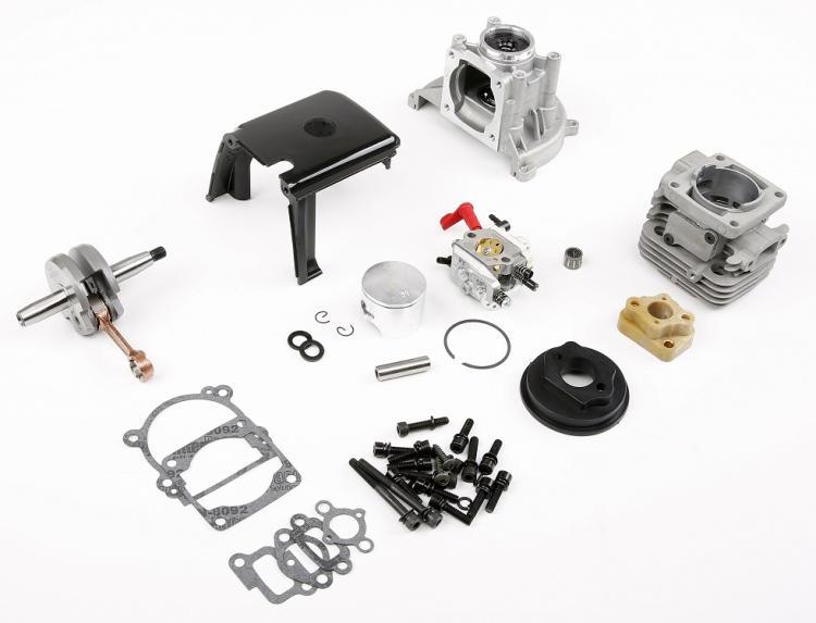 36cc motor pieza de actualización de 1/5 hpi rovan KM FG LOSI 5IVE-T 5T rc auto parte