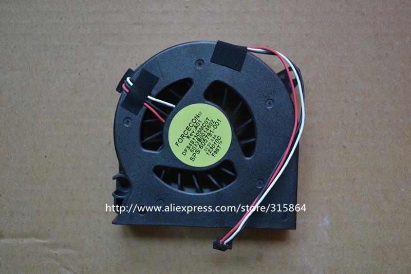 New CPU Laptop Cooling Fan para HP Compaq 515 516 CQ510 CQ511 CQ515 CQ516 CQ615 DFS481305MCOT
