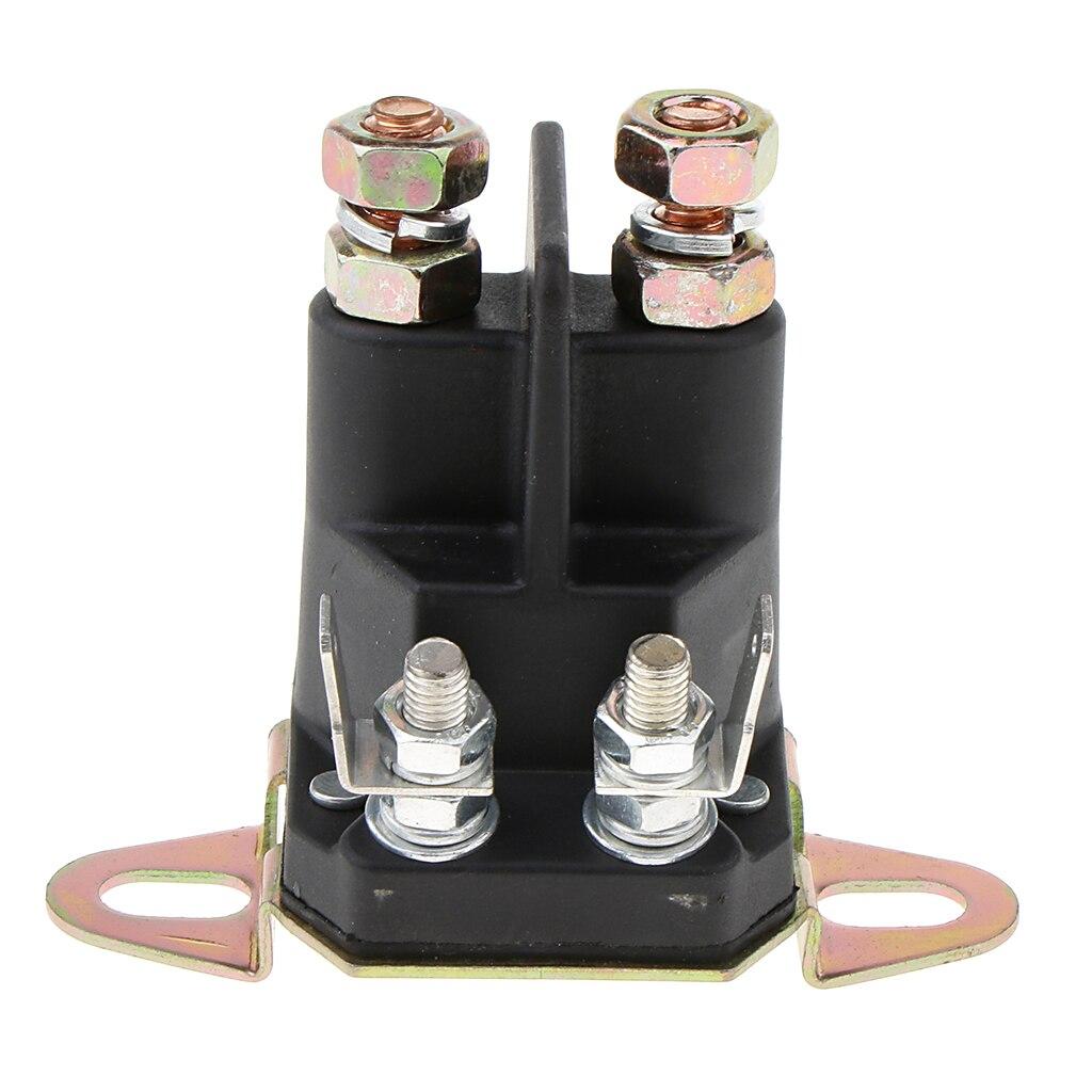 Relé de arranque de solenoide de motocicleta de Metal portátil para aplicaciones electrónicas repuesto práctico parte 3x2x2,6 pulgadas