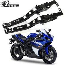 Palancas de embrague de freno CNC para motocicleta extensibles ajustables para Honda VTX 1300 C VTX 1300C VTX1300 C VTX1300C 2004-2005