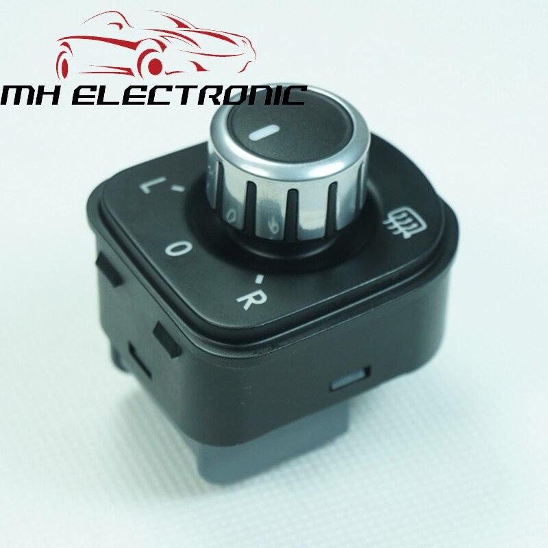 ¡Interruptor de ajuste de Control de espejo electrónico MH para Volkswagen VW Jetta Golf 5 6 Tiguan Sharan Passat 5ND 959 565 A alta calidad!
