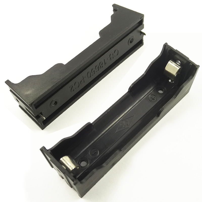 Чехол для аккумуляторной батареи HiDANCE 18650, пластиковый корпус для хранения с аккумуляторами DIY 18650 (3,7-7,4 В), чехол для литиевой батареи