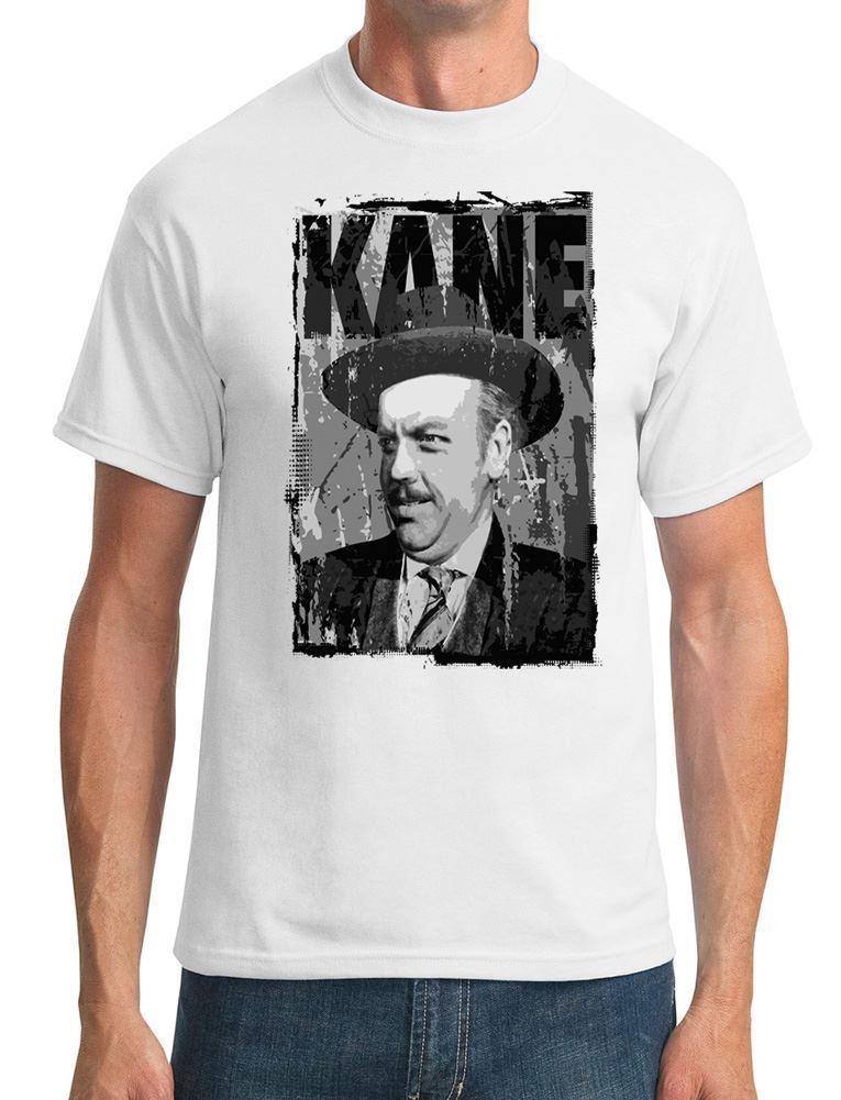 Citizen Kane - Orson Welles-mejor película de la historia-camisetas para hombre 2019 marca de moda Tops para hombres Streetwear camisetas