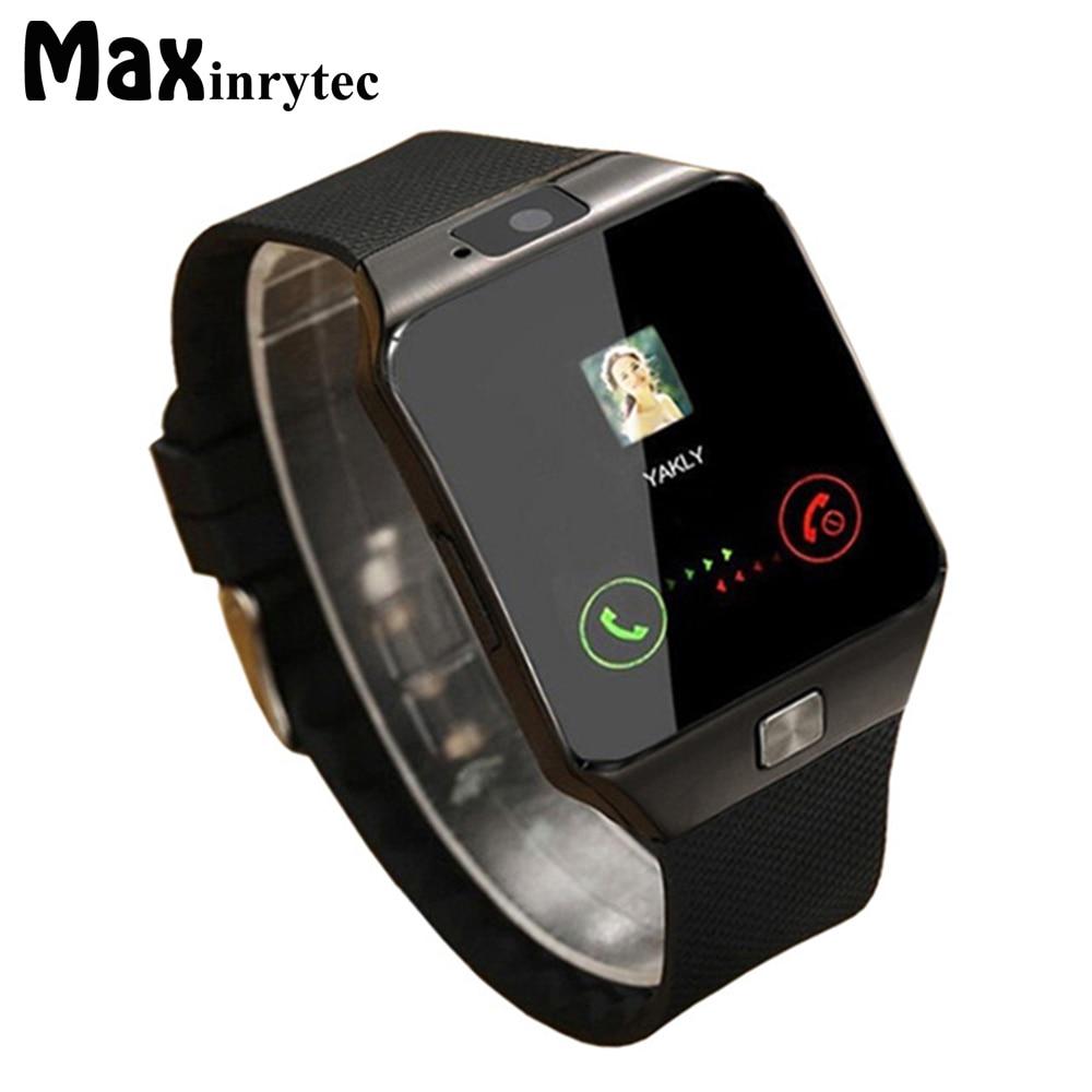 Reloj Inteligente Bluetooth DZ09 Reloj de Pulsera Portátil Reloj de Pulsera Relojes 2G SIM TF Tarjeta para Iphone Samsung Android Smartphone Smartwatch