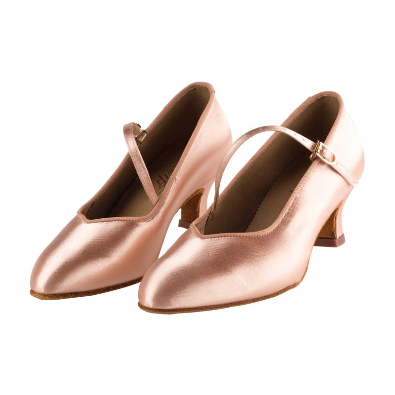 TOP Latin Dance Shoes Woman High Quality Satin Ladies Aerobics Shoe Sports for Girl Buckle Dancing S