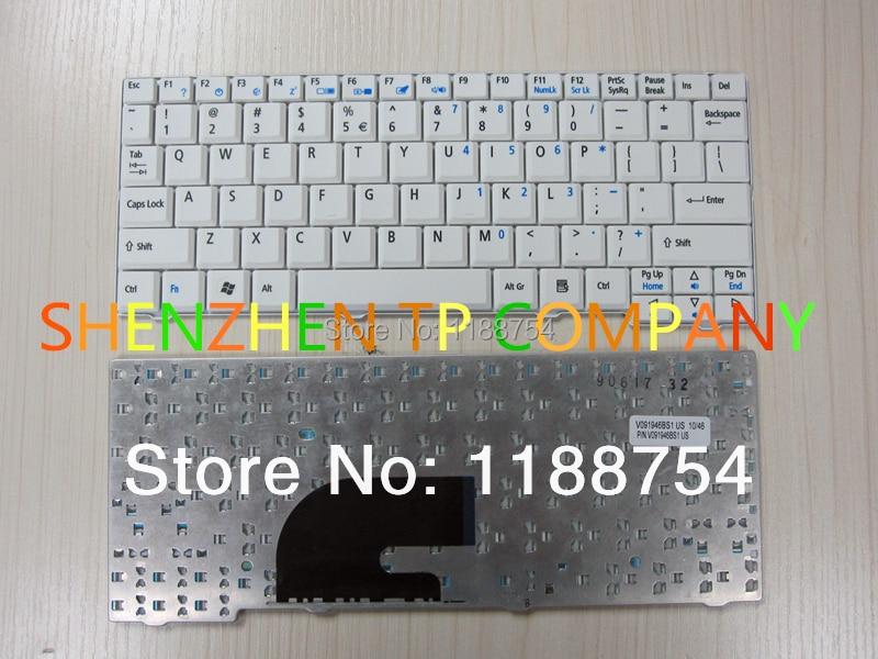 Teclado de ordenador portátil para Acer aspire One ZG5 D150 D250 A110...