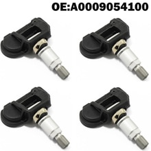4 PCS Car TPMS Tire Pressure Monitor Sensor System A0009054100 A0009050030 A0009050030Q for Mercedes