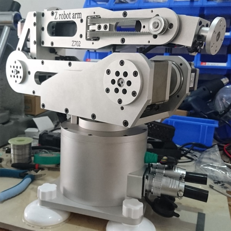 6-axis robot arm robot six-degree-of-freedom harmonic deceleration step system desktop industry robot