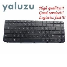 YALUZU Inglese per HP Tastiera Nera DEGLI STATI UNITI per 246 G1 250 G1 255 G1 430 431 435 450 455 630