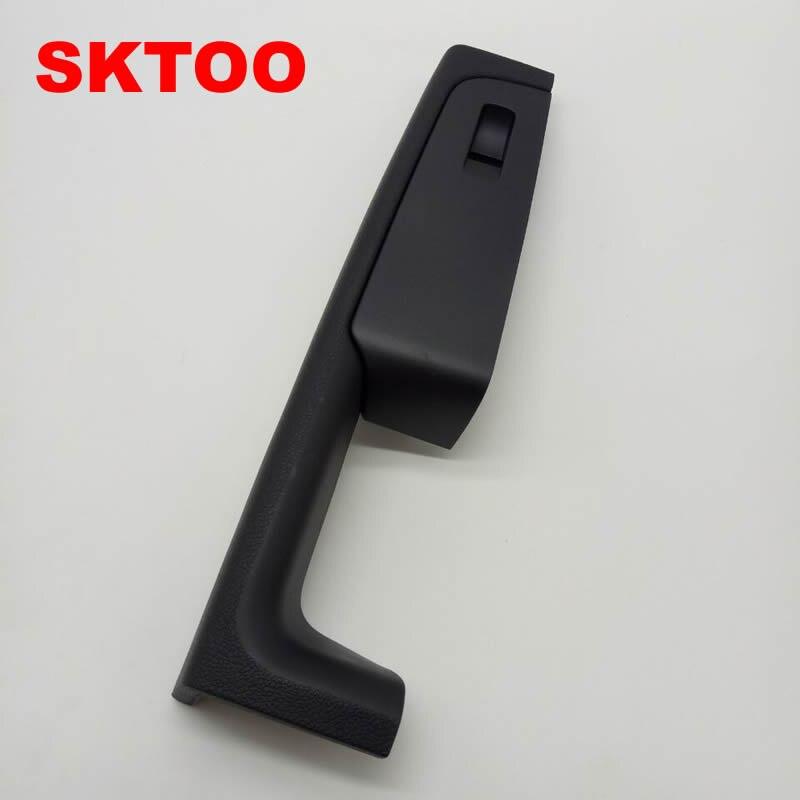 SKTOO Para Skoda Superb maçaneta da porta, caixa de apoio de braço da porta dianteira direita, passenger side interior punho quadro, a caixa de interruptor levantador preto