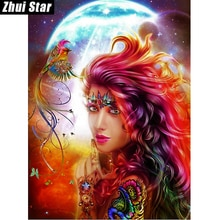 Zhui Star-perceuse carrée 5D bricolage   Peinture en diamant