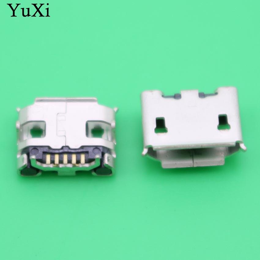 Yuxi mini micro usb jack tomada conector doca plug carregamento sincronização carregador de porta para asus transformador livro t100ha t100h
