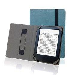 """Natural de Linho Caso para Livro de Bolso 740 7.8 """"Inkpad 3 Tolino Cybook 7.8 eReader E-book Caso Universal Capa de Linho Cânhamo protetora"""
