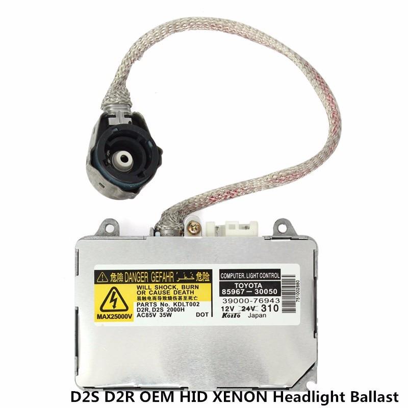 Новый OEM KDLT002 85967-50020 D2S D2R 35 Вт HID ксеноновый балласт и воспламенитель для lexus фар 8596750020 фары