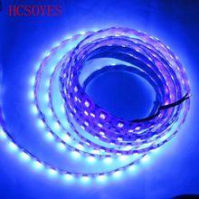 5M /rolls12v 5050 60 LED s/M UV étanche Ultra Violet 395-405nm LED bande ip30 non étanche/ip67 étanche