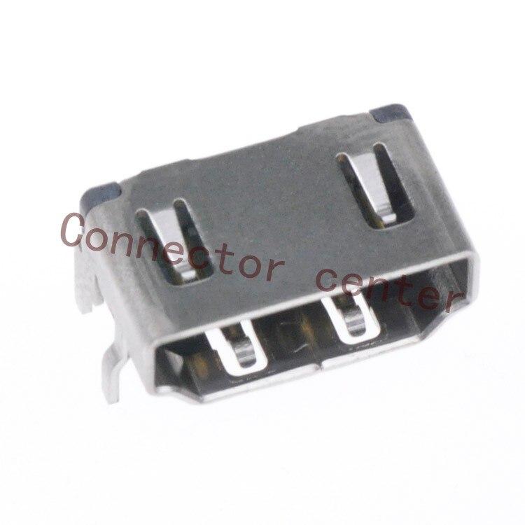 موصل HDMI ذو 19 سنًا ، لجهاز Molex ، النوع القصير ، أصلي ، 47266-9002 ، مقبس HDMI