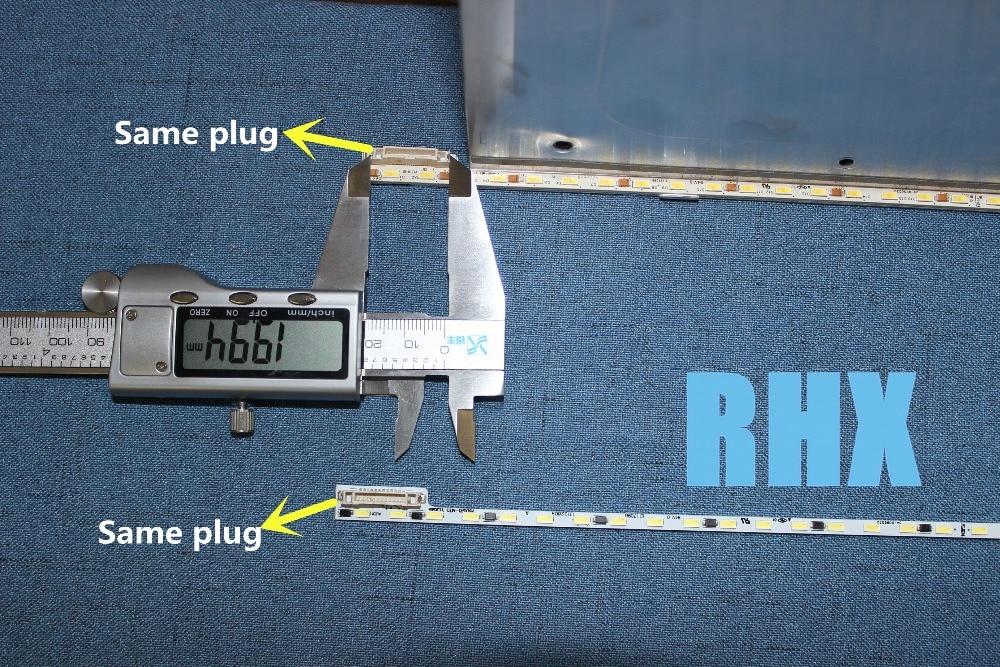 FOR repair skyworth LCD TV LED backlight 50E510E Article lamp V500H1-ME1-TLEM9 screen V500HJ1-ME1 1piece=68LED 623MM