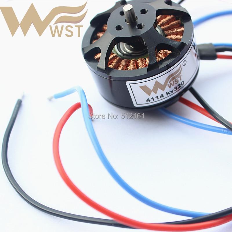 Wst W4114SH 320KVブラシレスモーター用T810/960/1050 S800 evo S900 S1000 diyドローンquadcopter/hexrcopter accs