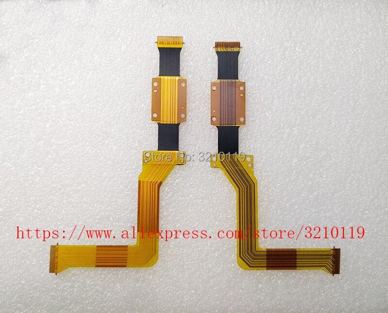 Nueva pantalla LCD cable flexible de conexión para JVC GC-P100 GC-PX100 P100 PX100BAC PX100 Video Reparación de cámara parte
