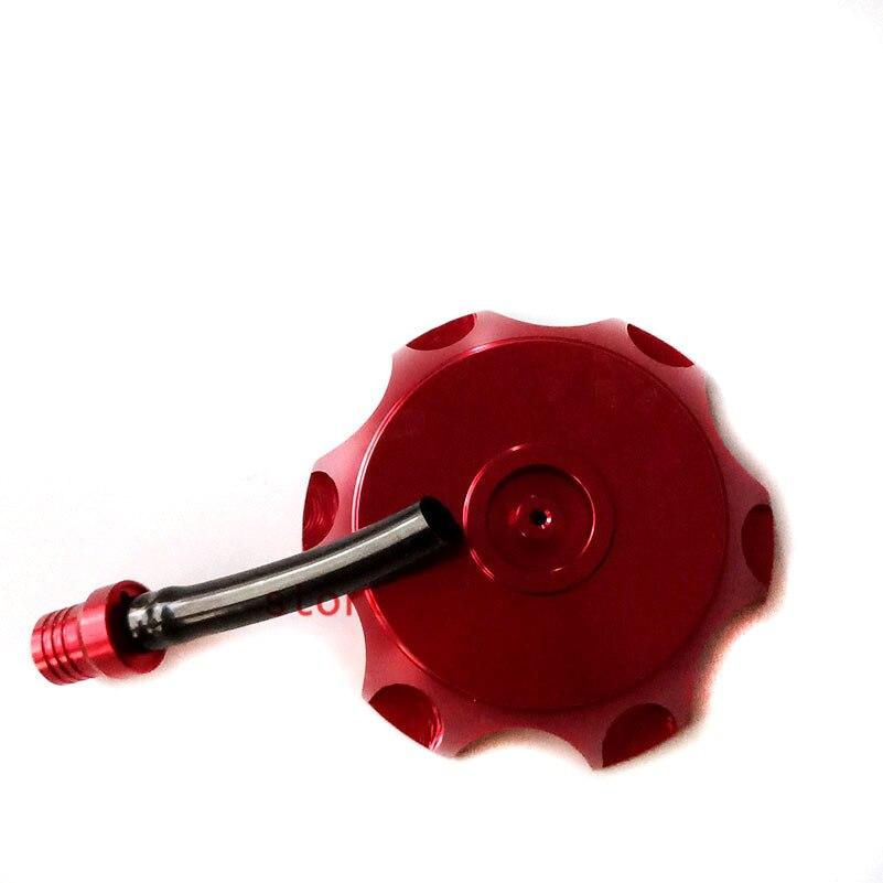 Nuevo rojo CNC de aluminio tapa de tanque de combustible para Honda CRF50 70 XR50 SDG 70 90 107 110 125CC