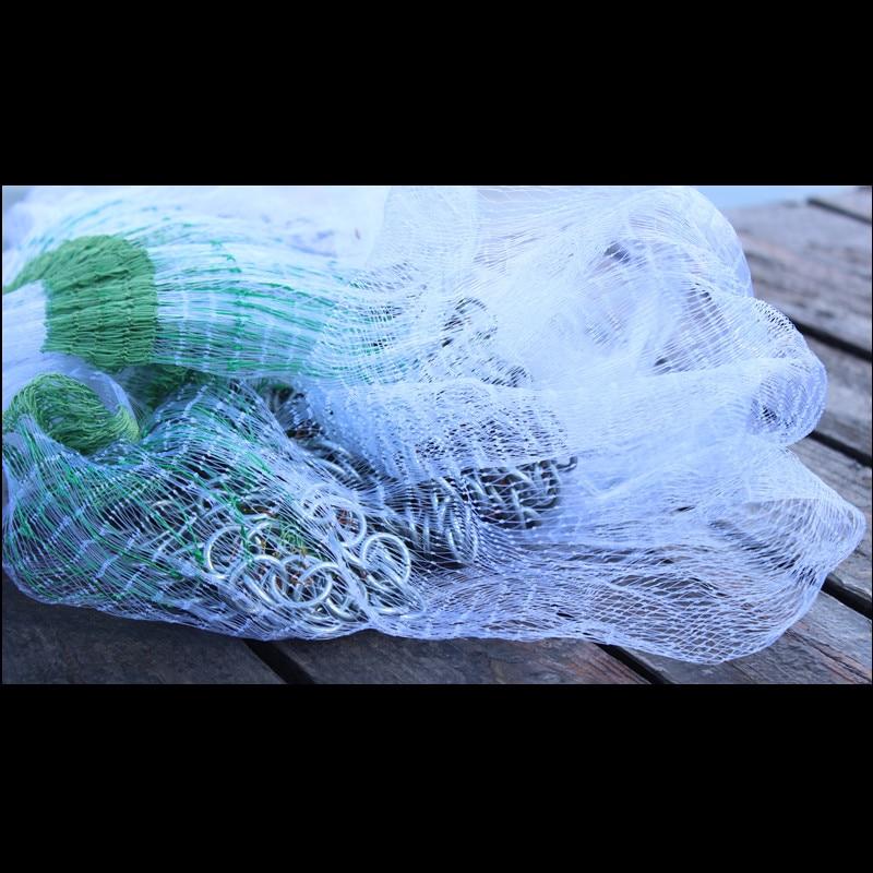 diameter 3.5m/4.5m/5.5m Korean style cast net fishing nets hand throw net round net rede de pesca 0.3mm monofilament nylon net enlarge