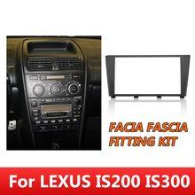 Facia Fascia-Kit de montage   Radio CD, fil conducteur ISO, pour Toyota Altezza cadre Console pour LEXUS IS200 IS300 1995-2006